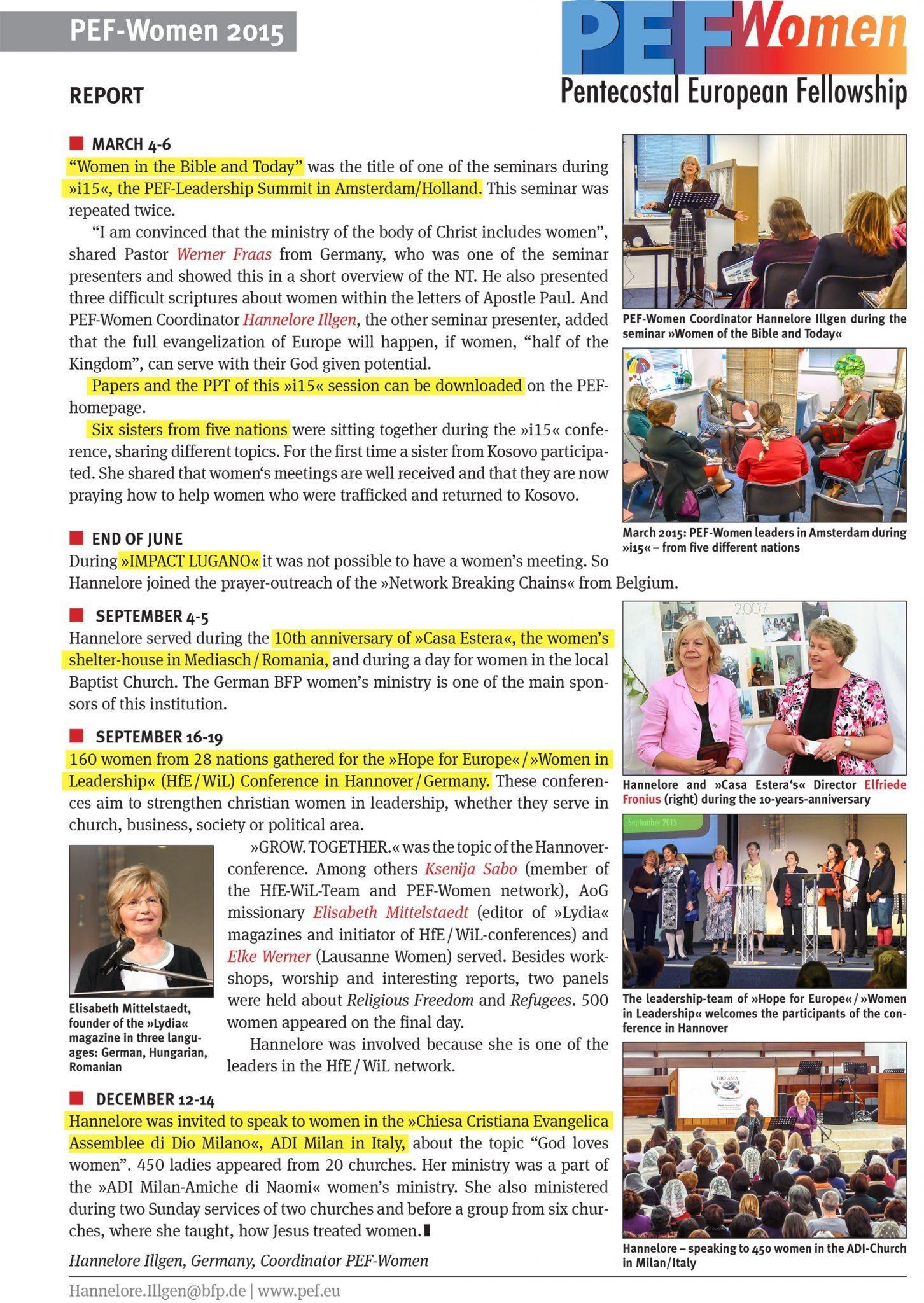 PEF-Women-2015-Report