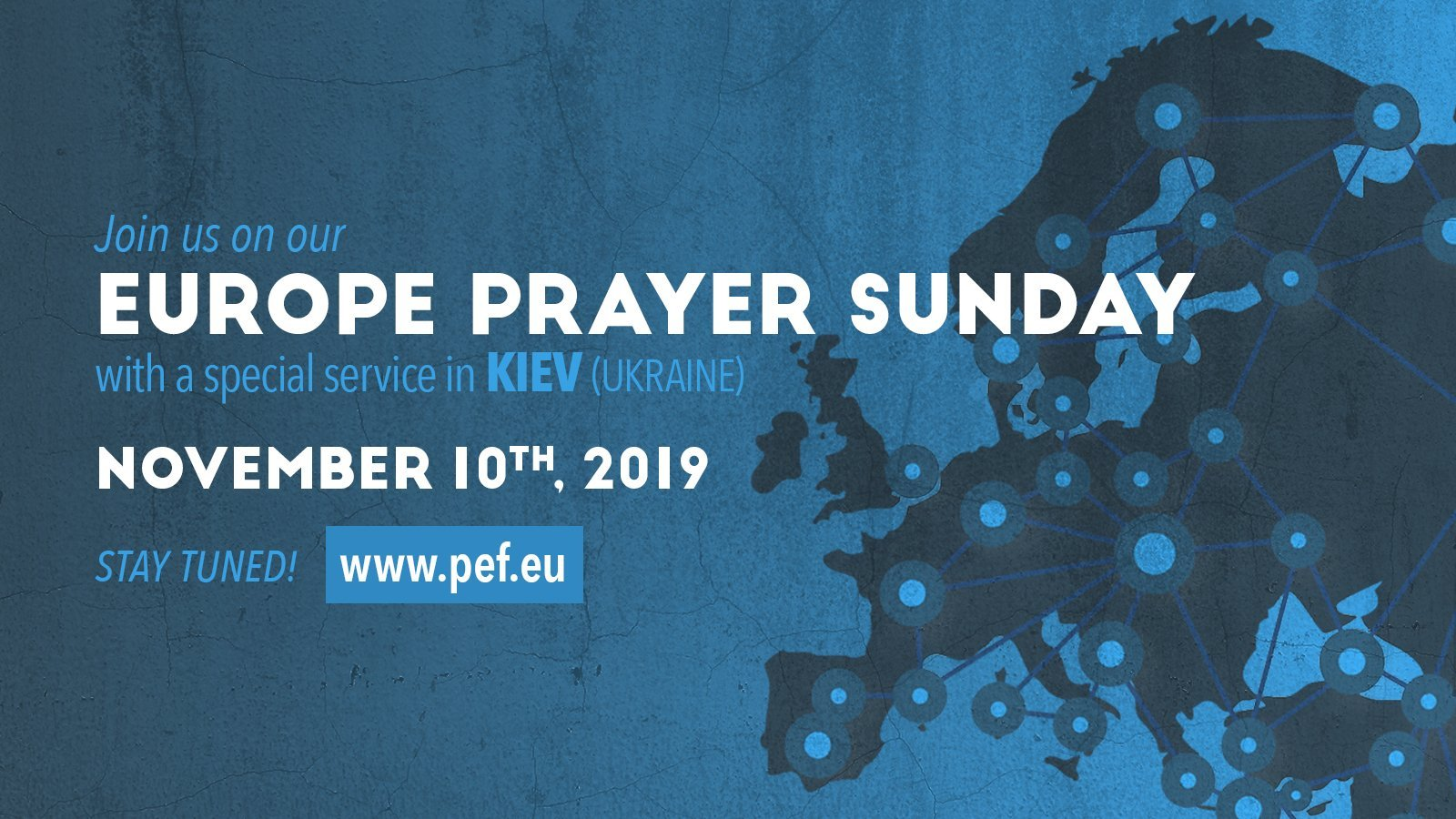 Europe Prayer Sunday