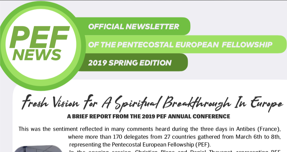 PEF News
